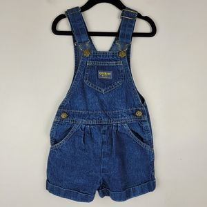 OshKosh B'Gosh Vestbak Denim Overall Shorts 5